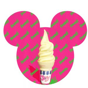 dole piapple whip frenzi frozen yogurt